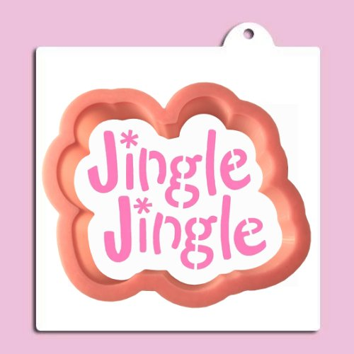 Jingle Jingle Cookie Cutter With Stencil
