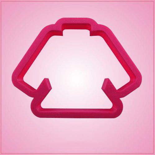 Pink Karate Gi Cookie Cutter