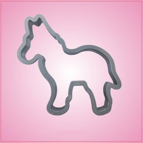 Large Democrat Donkey Cookie Cutter