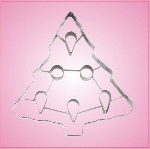 Large Stainless Steel Christmas Tree Cookie Cutter
