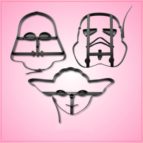 Large Star Wars Cookie Cutter Set