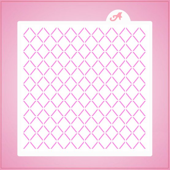 Lattice Pattern Stencil
