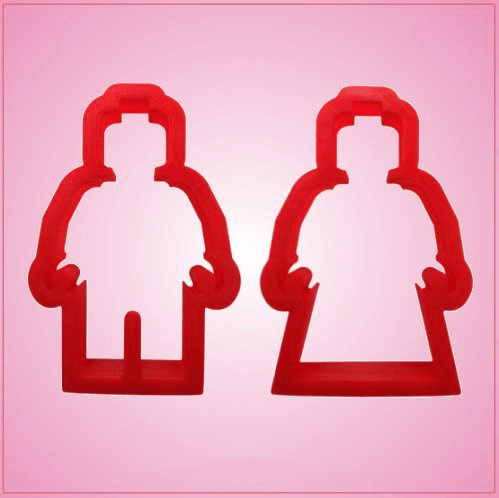 Lego Man Cookie Cutter