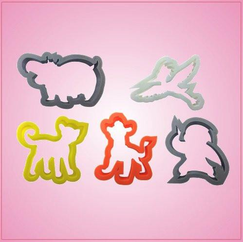 Lion Gang Cookie Cutter Set