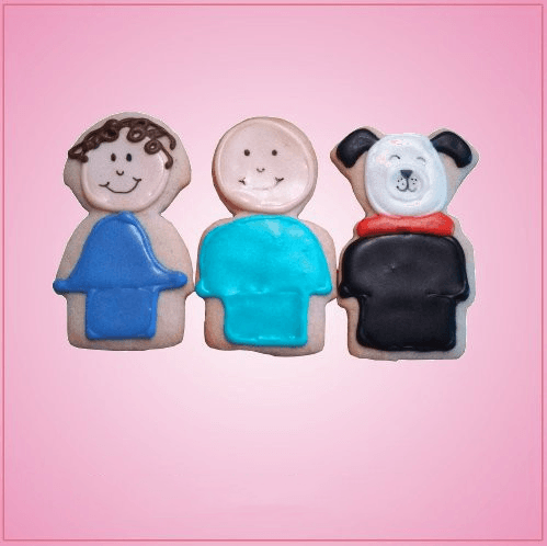 Little People Cookie Cutter Set