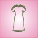 Long Nurse Dress Cookie Cutter
