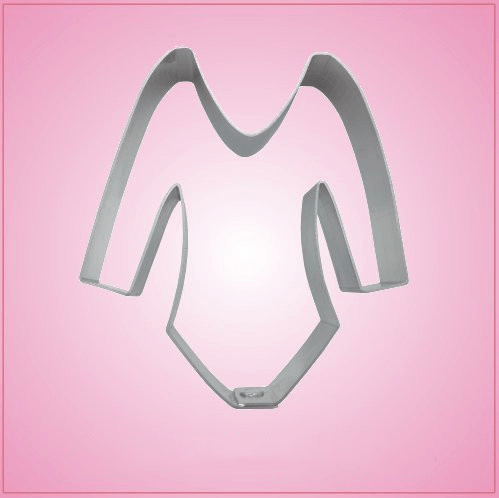 Long Sleeve Leotard Cookie Cutter