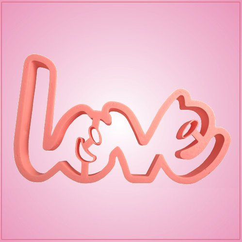 Love Script Cookie Cutter