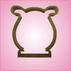 Lyre Cookie Cutter