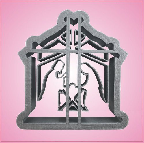 Manger Scene Cookie Cutter