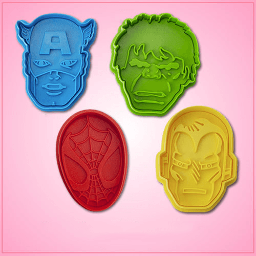 Marvel Superhero Cookie Cutter Set