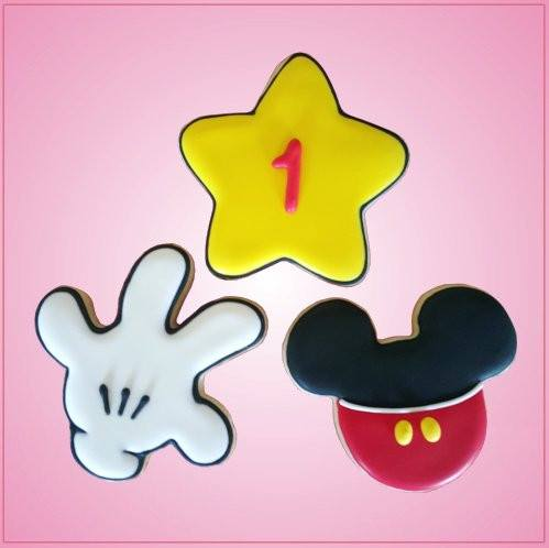Mickey Mouse Hand And Star Cookie Cutter Set Cheap