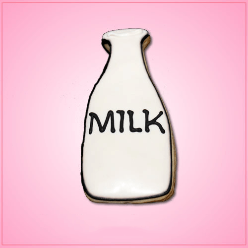 Cute Frosted Milk Bottle Cookie Cheap Cookie Cutters