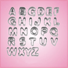 Mini Alphabet Letter Cookie Cutter Set
