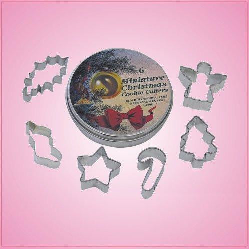 Mini Christmas Cookie Cutter Set 6 Piece