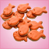 Mini Fish Cracker Cookie Cutter