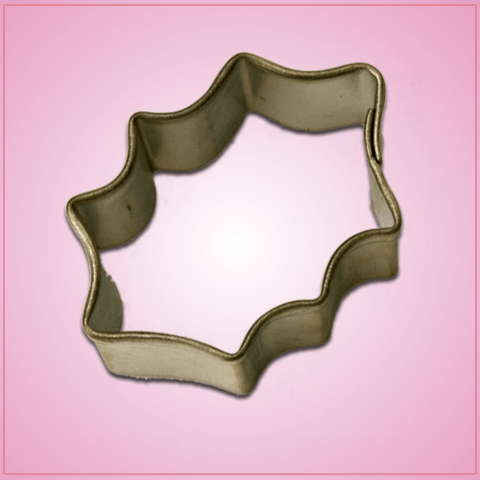 Mini Holly Leaf 2 Cookie Cutter
