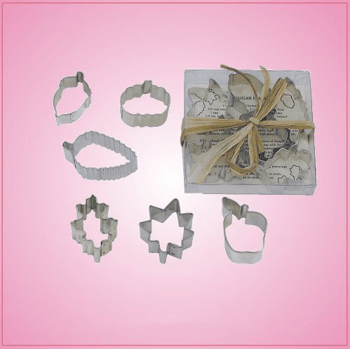 Mini Leaf Cookie Cutter Set