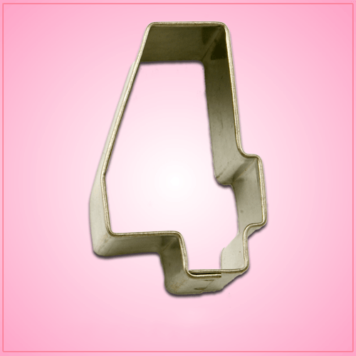 Mini Number 4 Cookie Cutter