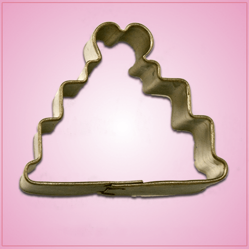 Mini Wedding Cake Cookie Cutter