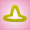 Mini Yellow Hat Cookie Cutter