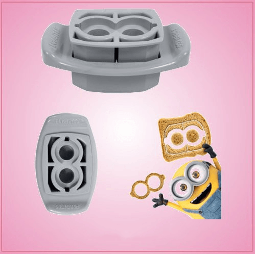 Minion Goggles Cookie Cutter