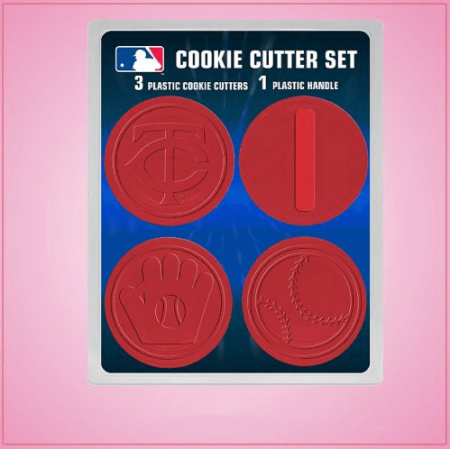 Minnesota Twins Cookie Cutter Set
