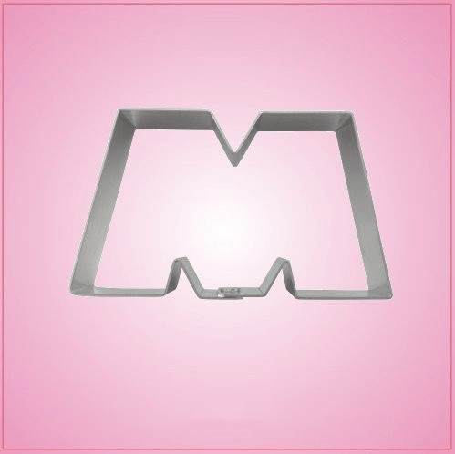 Monsterous Letter M Cookie Cutter