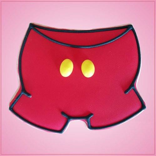 Mouse Shorts Cookie Cutter