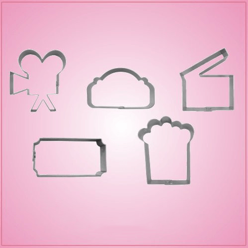 Movie Cookie Cutter Set