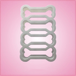 Multi Dog Bone Cookie Cutter