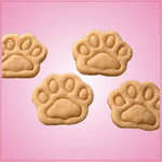 Multi Dog Paw Cookie Cutter