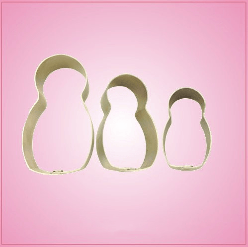 Nesting Doll Cookie Cutter Set