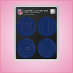 New York Giants Cookie Cutter Set