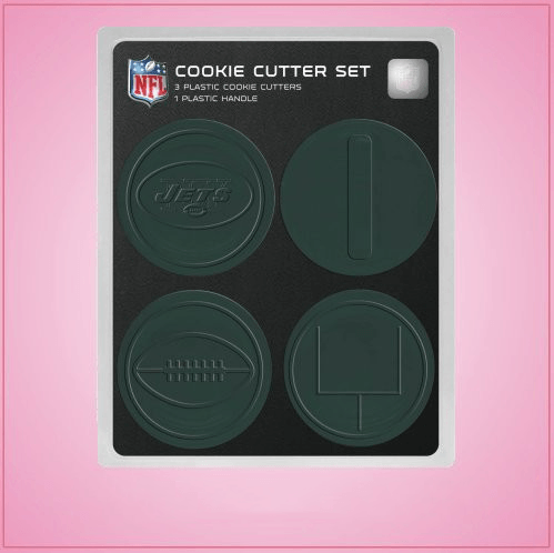 New York Jets Cookie Cutter Set