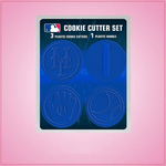 New York Mets Cookie Cutter Set