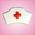 Nurse Cap Cookie Cutter