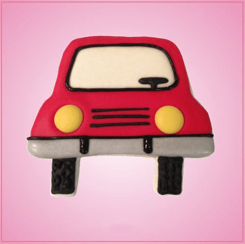 Oncoming Car Cookie Cutter