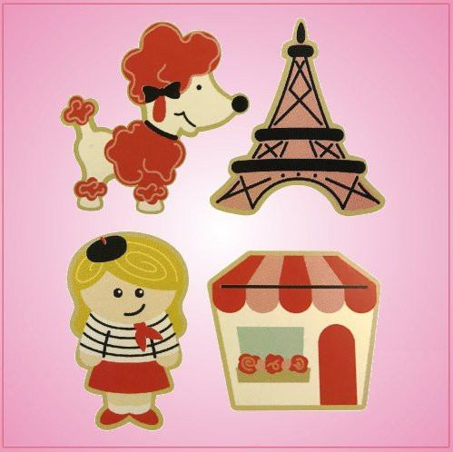 Deluxe Ooh La La Cookie Cutter Set