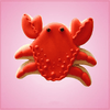 Orange Crab Cookie Cutter