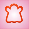 Orange Ghost 2 Cookie Cutter