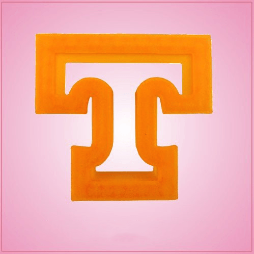 Orange Letter T Cookie Cutter