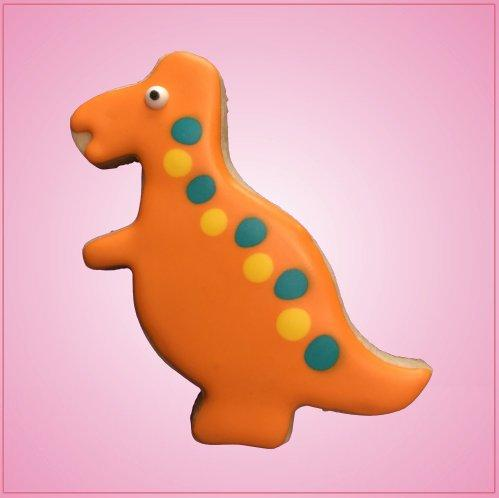 Orange T-Rex Cookie Cutter