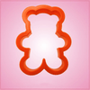 Orange Teddy Bear Cookie Cutter