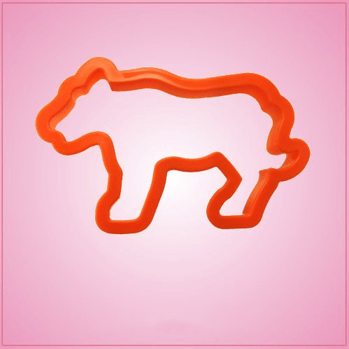 Orange Tiger Cookie Cutter