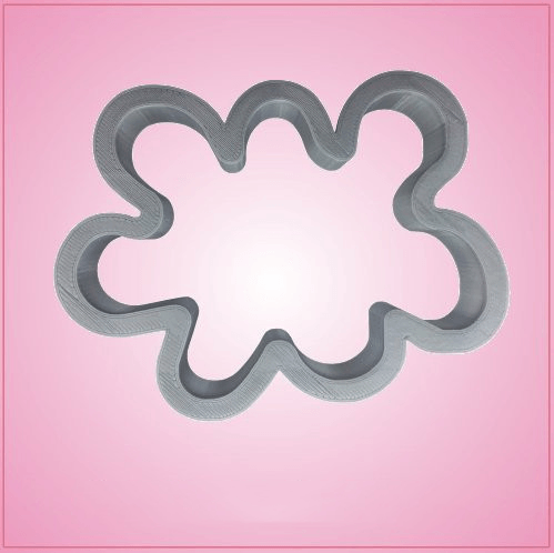 Paint Splatter Cookie Cutter