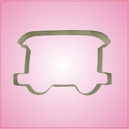 Passenger Car Cookie Cutter