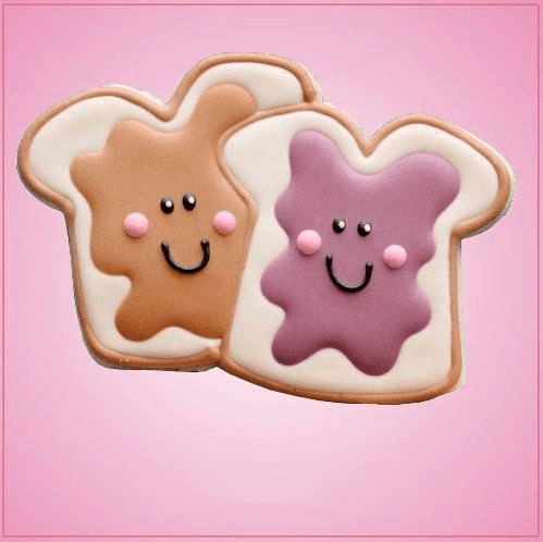 Peanut Butter And Jelly Cookie Cutter