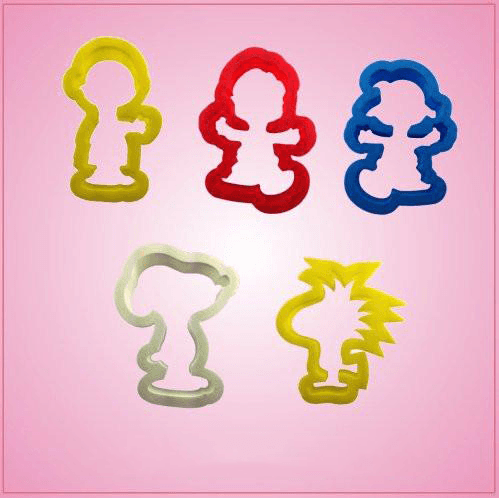 Peanuts Cookie Cutter Set