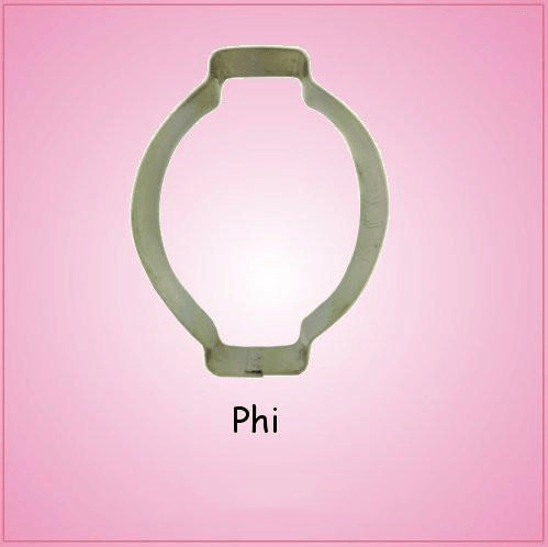 Phi Cookie Cutter